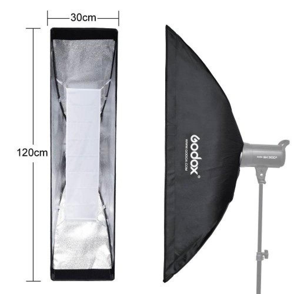 Godox 30x120 cm Bowens Mount Grid Strip softbox