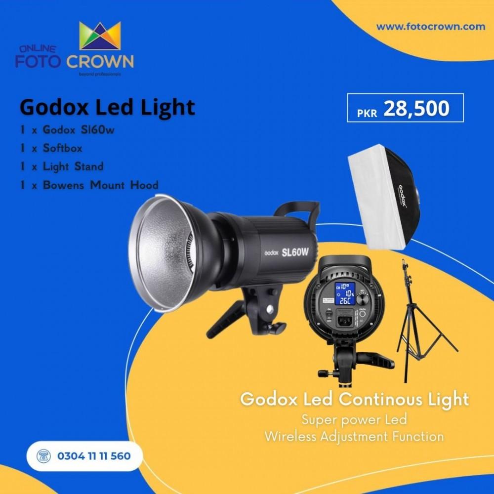 Godox LED Light Bundle Set