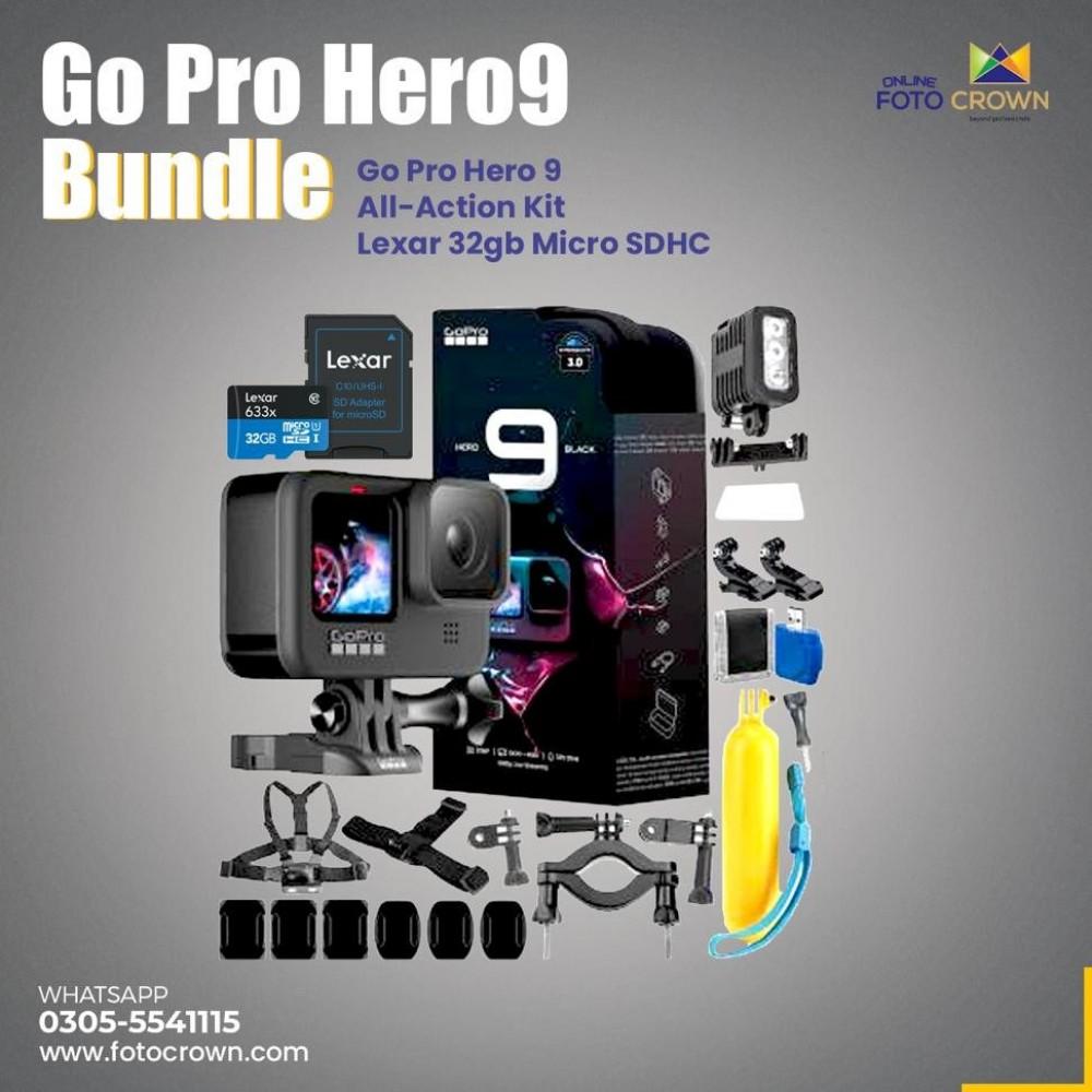 GoPro HERO9 Black Bundle